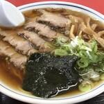 駅前食堂 - チャーシューメン 700円