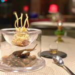 LA VIE1923 - ◆IDessert 鳴門金時 蜜イモの和モンブラン lavie スタイル