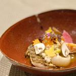 LA VIE1923 - ◆OPoisson 長野県産 アルプス鮭のミキュイ カラフル 紅葉 エフェクト