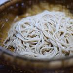 神宮の蕎麦 - せいろ 新蕎麦
