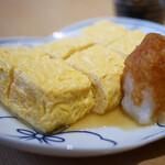 神宮の蕎麦 - 出汁巻卵