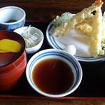 割烹料理 石亭 - 料理写真:天婦羅定食(840円)