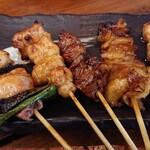 鶏Biyori - 焼き鳥5種盛