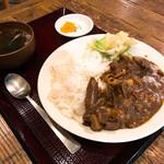139880985 - ホルモンカレー定食