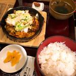 139880987 - 鶏ちゃん焼き定食