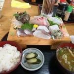 五右衛門 - 刺身定食 1200円