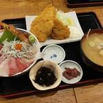 漁師めし食堂 - 全部がメイン級(๑•᎑•๑)