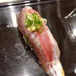 寿司大 - 料理写真:アジ