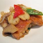 中国料理 桃李 - 金目鯛といろいろ野菜のXO醤炒め
