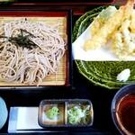 市太郎 - 料理写真:天ざる(1,200円)