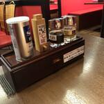 中華飯店 幡龍 - 料理写真:卓上