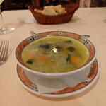 139899658 - サービスランチ(税込み1600円)のスープ