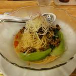 大阪ふくちぁんラーメン - 冷し白胡麻坦坦麺