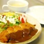 和庵 - 料理写真:熟成ロースカツセット(¥900)