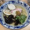 㐂九八 - 料理写真:三種の貝出汁潮そば