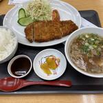 Onikuyakicchin - とんかつ定食、肉吸い