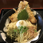139904361 - 桜島鶏ささみ天おろしうどん(大盛)