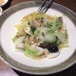 中国大陸料理 水仙閣 - 海鮮あんかけ焼きそば 980円(税抜き)