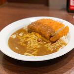 カレーハウス CoCo壱番屋 - 料理写真:チキンカツチーズ スクランブルエッグ200㌘☆