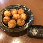 ジャンたこ - 料理写真:カリカリ素焼塩たこ焼