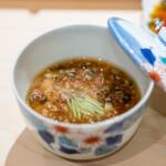 鮨 崚 - すっぽんの茶碗蒸し