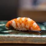 鮨 崚 - 長崎の車海老