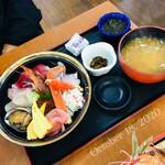 漁師料理 かなや - 海宝丼