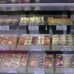 観月堂菓子店 - ショーケース1
