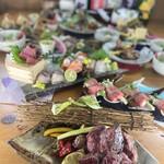 炭焼きと魚貝と日本酒 魚's man - 料理写真: