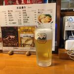 閻魔大王'sキッチン - 生ビール
