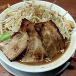 黒木製麺 釈迦力 雄 - 料理写真:男の修行200g