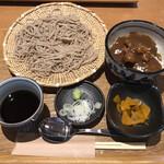 石楽 - カレー丼とせいろセット1,200円税込