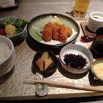 Sousakuryourisakura - 日替わり膳(牡蠣フライ)