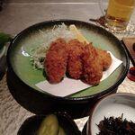 Sousakuryourisakura - 日替わり膳の牡蠣フライ