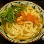 丸亀製麺 - ザク切りトマト冷かけ並380円