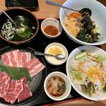 安楽亭 - 彩菜たっぷりヘルシーランチA