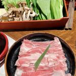 Souhonkenaniwasoba - 野菜2人前と豚肉1人前