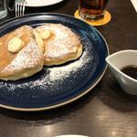 ライトカフェ - リコッタチーズパンケーキ ❤メープルシロップ