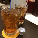 ライトカフェ - (前)アールグレイと(後)ウーロン茶