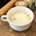 かふぇ ふたば - コーンスープ
