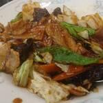 中国料理 山久 - 回鍋肉丼