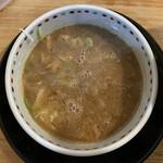彩色ラーメンきんせい - 濃厚鶏豚骨つけ麺(並220g) 850円 (つけ汁)