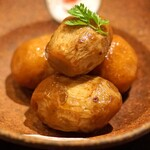 九頭龍蕎麦 - 上庄里芋の煮っ転がし