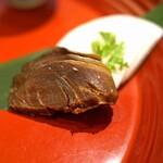 九頭龍蕎麦 - 福井の珍味(5種盛合せ)  へしこ(鯖のぬか漬け)