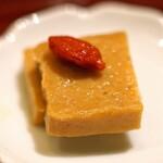 九頭龍蕎麦 - 福井の珍味(5種盛合せ)  豆腐の味噌漬け