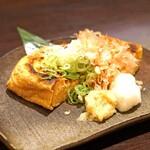 九頭龍蕎麦 - 竹田の油揚げの焼き物