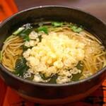 九頭龍蕎麦 - たぬき蕎麦