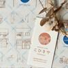 natural cafe こひきや - 料理写真:商店街が描かれたオリジナル包装紙