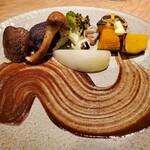 Tsurukikyo - 秋野菜の盛り合わせ