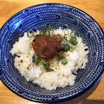 吉岡マグロ節センター - ダイブ飯(¥60)